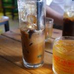カフェのアイスコーヒー