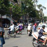 街のバイク