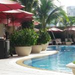 カラベルホテルのプール