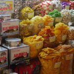 市場のマンゴー売り場