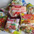 低カロリー!ベトナムインスタント麺は小腹が空いた時に旨い!お土産に!