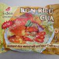 インスタント麺食べ比べ(9)蟹味スープのブン BUN RIEU CUAは海鮮の味